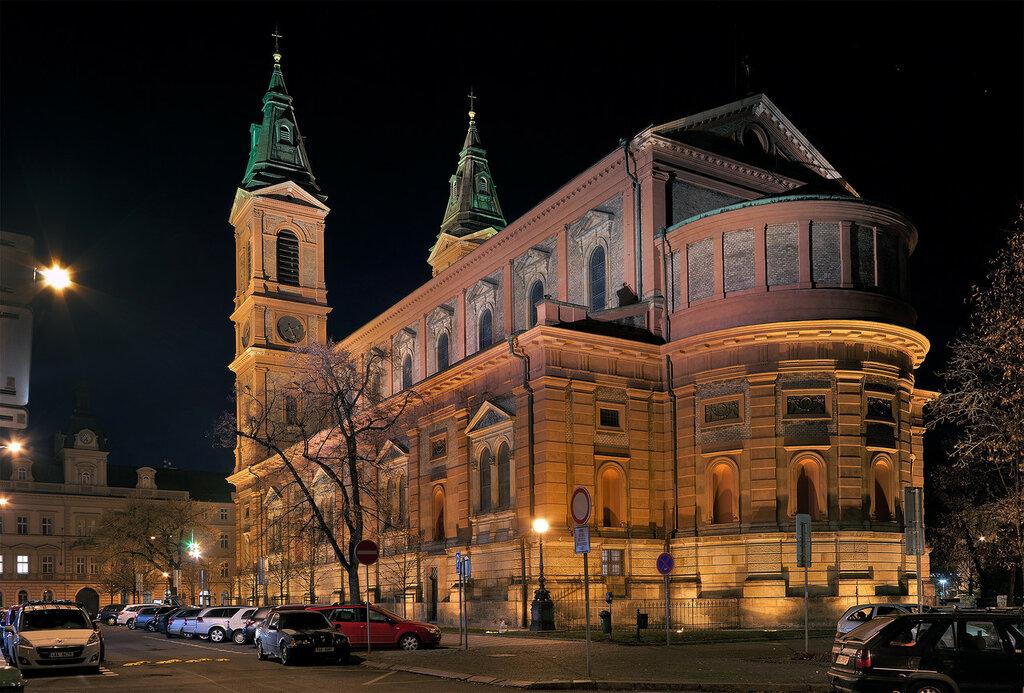 Костел Святого Вацлава на Смихове. (Kostel svatého Václava na Smíchově)