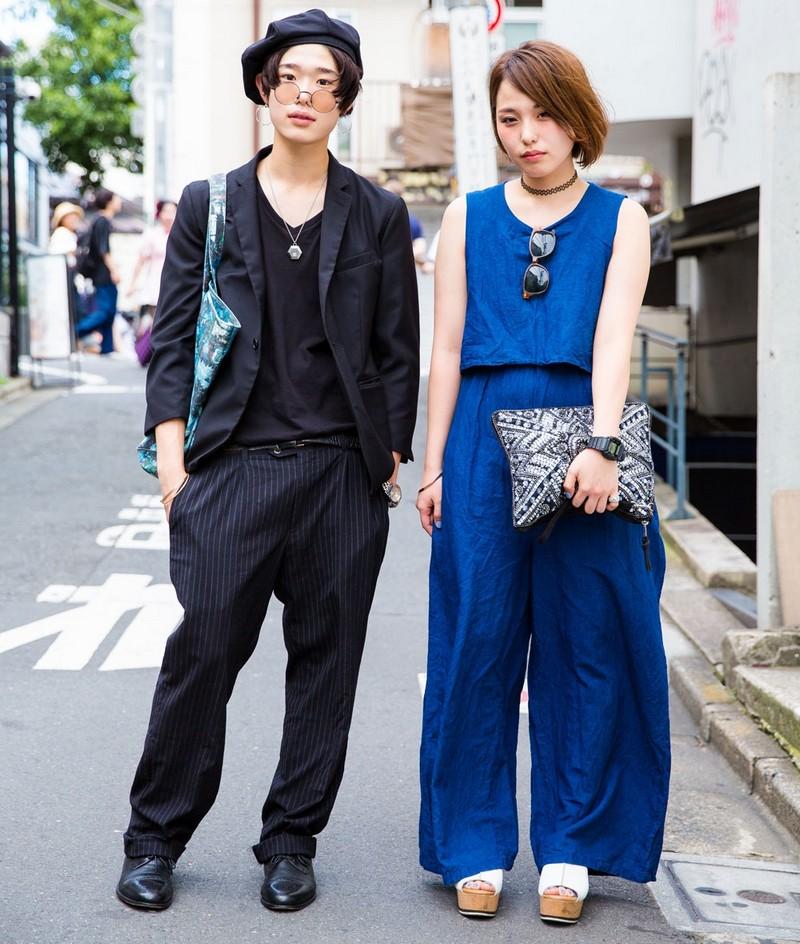 Модные персонажи на улицах Токио (20.09.16)