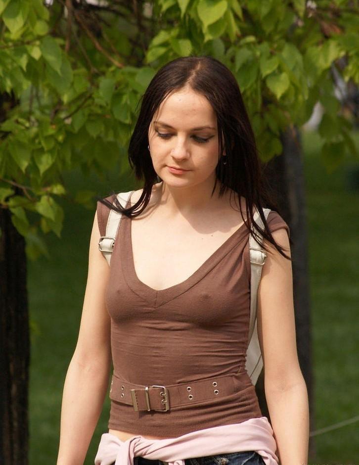 голая девочка с большими сосками фото
