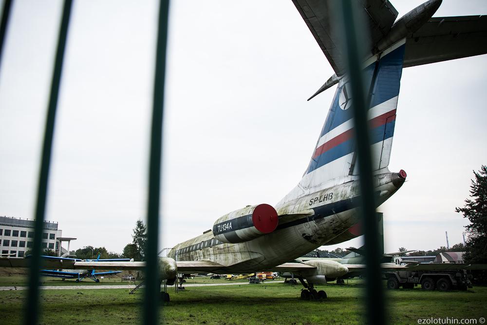 Кладбище советской авиации в Польше