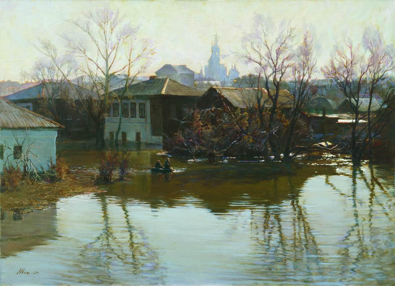 Орск весной. Михаил Кирильчук. 2004.jpg