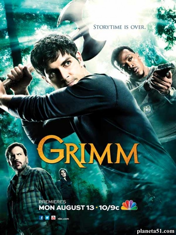 Гримм (1-6 сезон: 123 серий из 123) / Grimm / 2011-2017 / ПМ (LostFilm) / WEB-DLRip