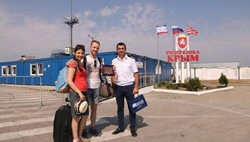 ВКерчи встретили 5-миллионного пассажира