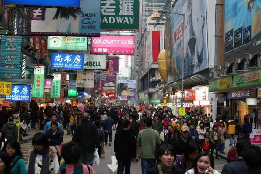 25. Самое многолюдное место – район Mongkok Commercial and Residential Это место расположено в Гонко