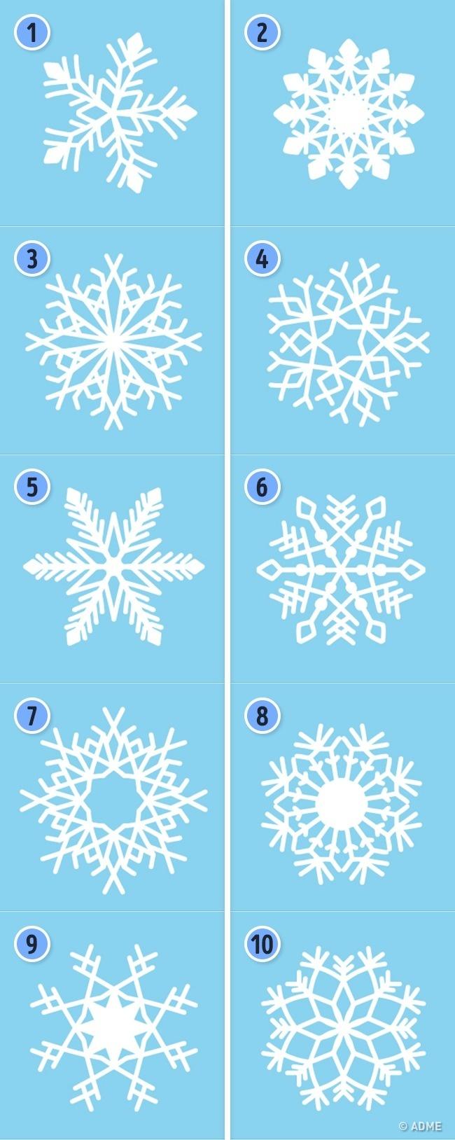 Тест: Выберите снежинку, иона раскроет ваши сильные качества (1 фото)