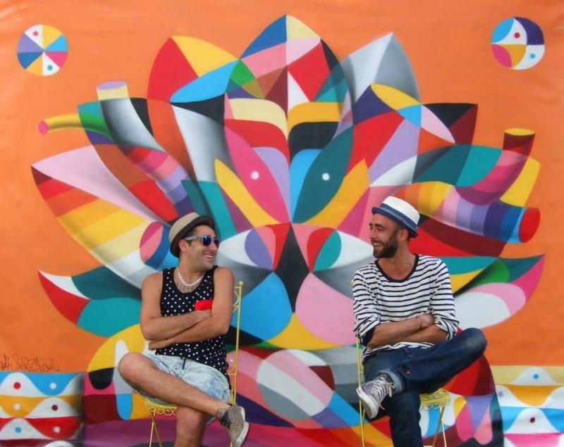 Remed иOkuda, Торонто, Канада. В2014 году вкус Риохи добрался идоМосквы: Okuda создал инсталляци