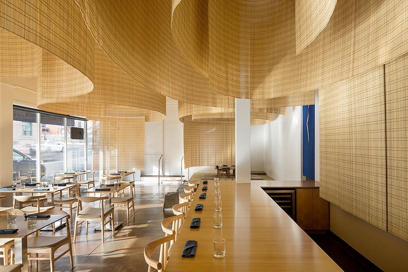 Японский ресторан в Портленде от Kengo Kuma (4 фото)