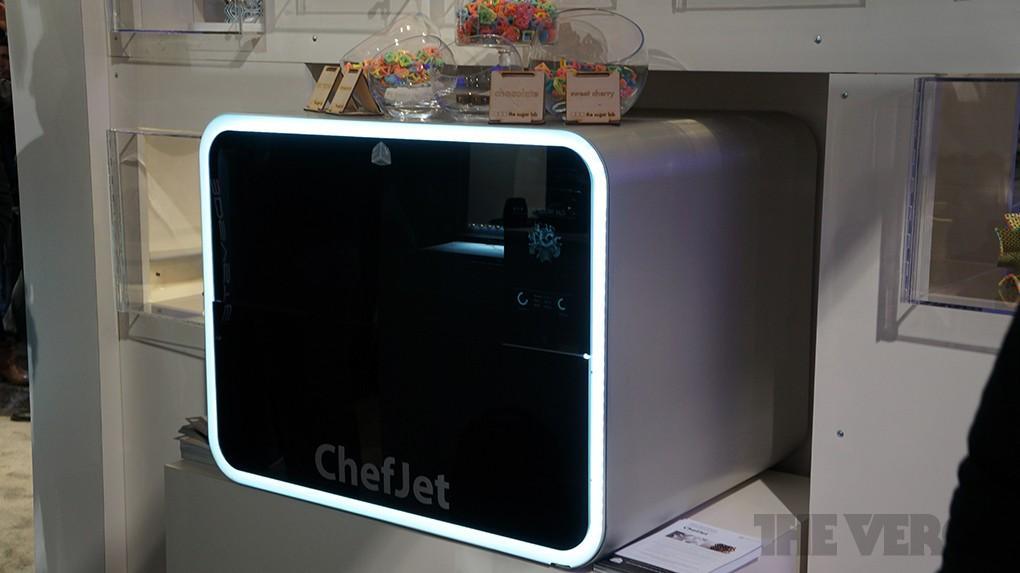 2. Младшая модель серии ChefJet отличается не только сравнительно скромными размерами, но и возможно
