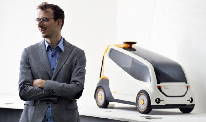 Loop авторства бельгийца Фредерика Ванден Борре. Loop представляет собой автономный автомобиль, кото
