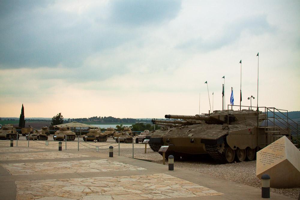 Знаменитый израильский танк