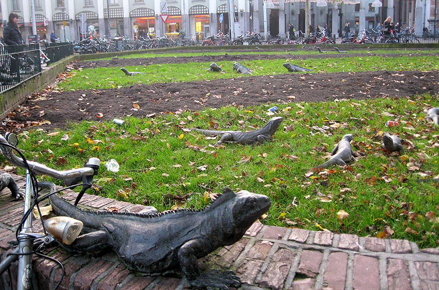 17. Парк игуан, Амстердам, Нидерланды