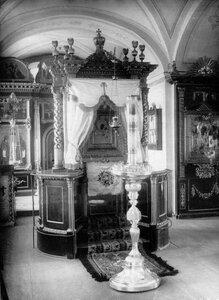Икона Божией Матери Коневской монастырской церкви.