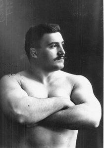 Участник чемпионата И.Чая (портрет).