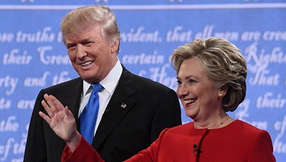 Клинтон готовы поддержать на5% больше избирателей, чем Трампа— Опрос