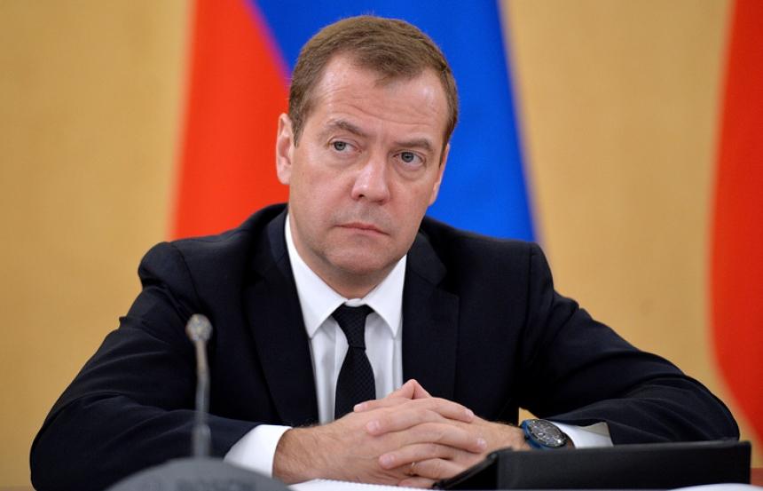 Медведев призвал руководителя министра финансов поменять «Харлей» наотечественный электромотоцикл
