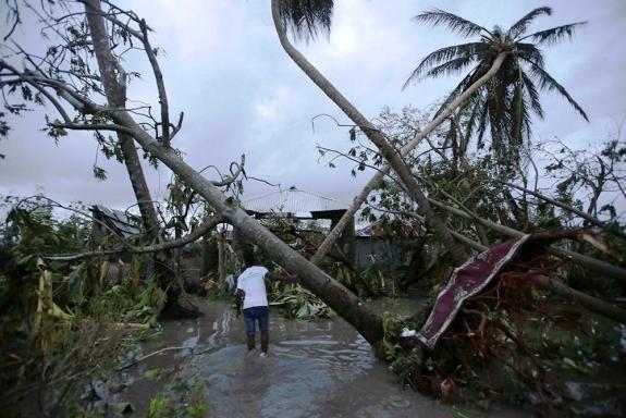 Число погибших урагана «Мэттью» наГаити приблизилось к500