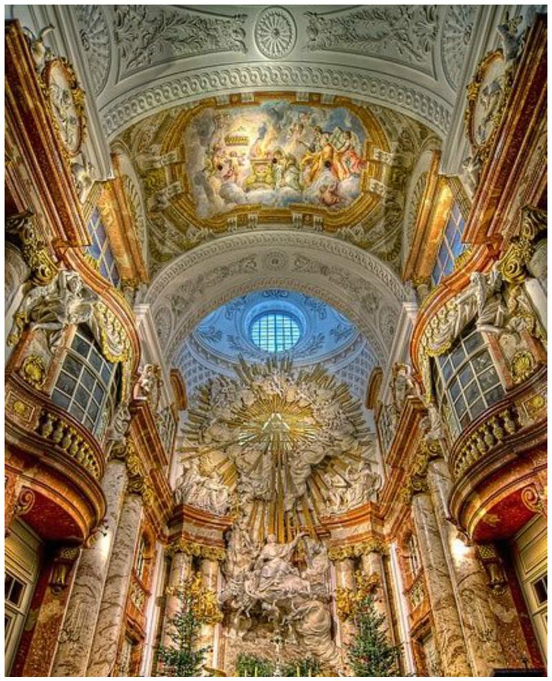 Церковь Святого Чарльза, Вена