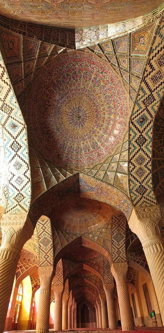 Мечеть Насир аль-Мульк - Шираз, Иран