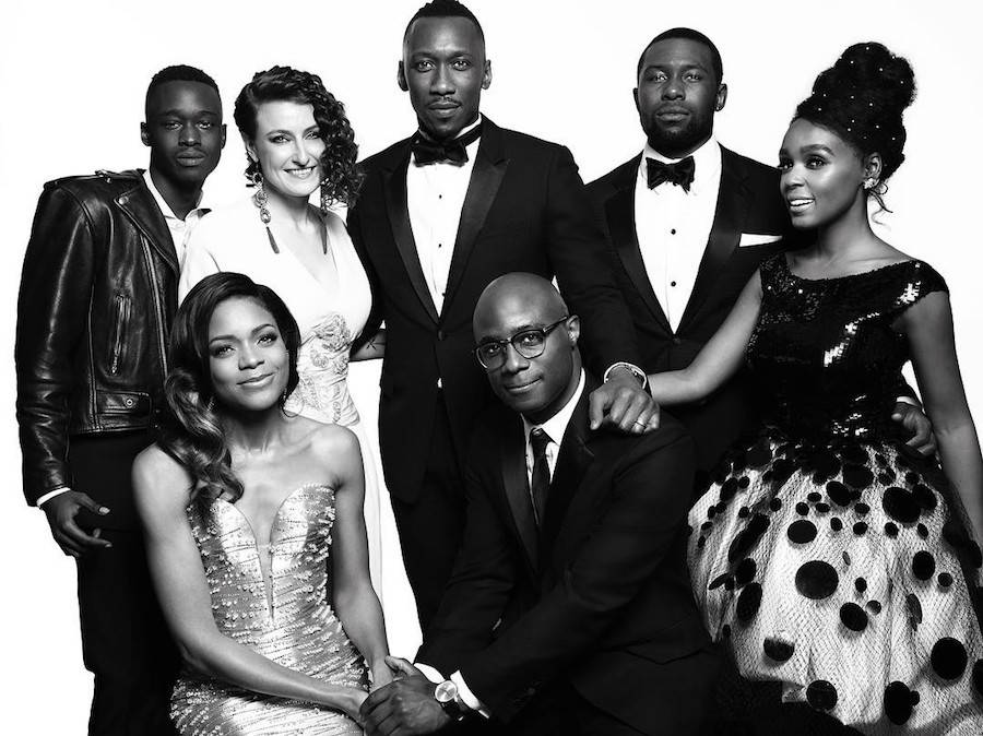 The cast of Moonlight