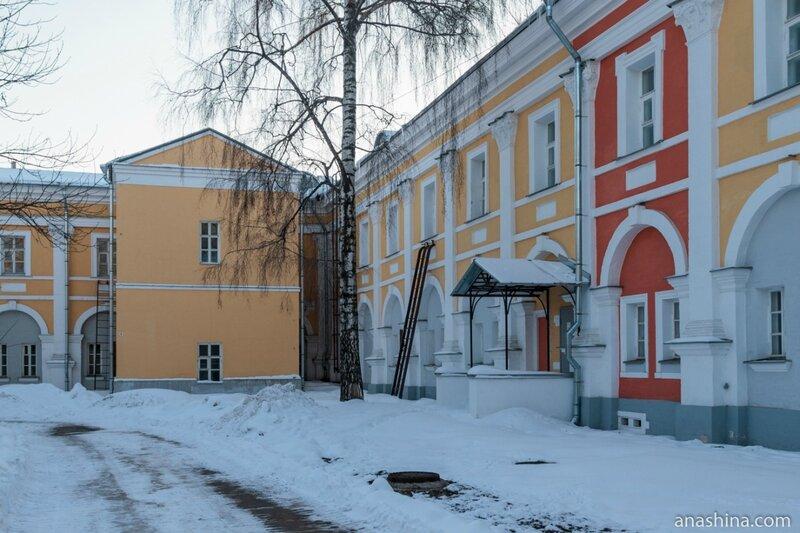 Внутренний двор, Лефортовский дворец