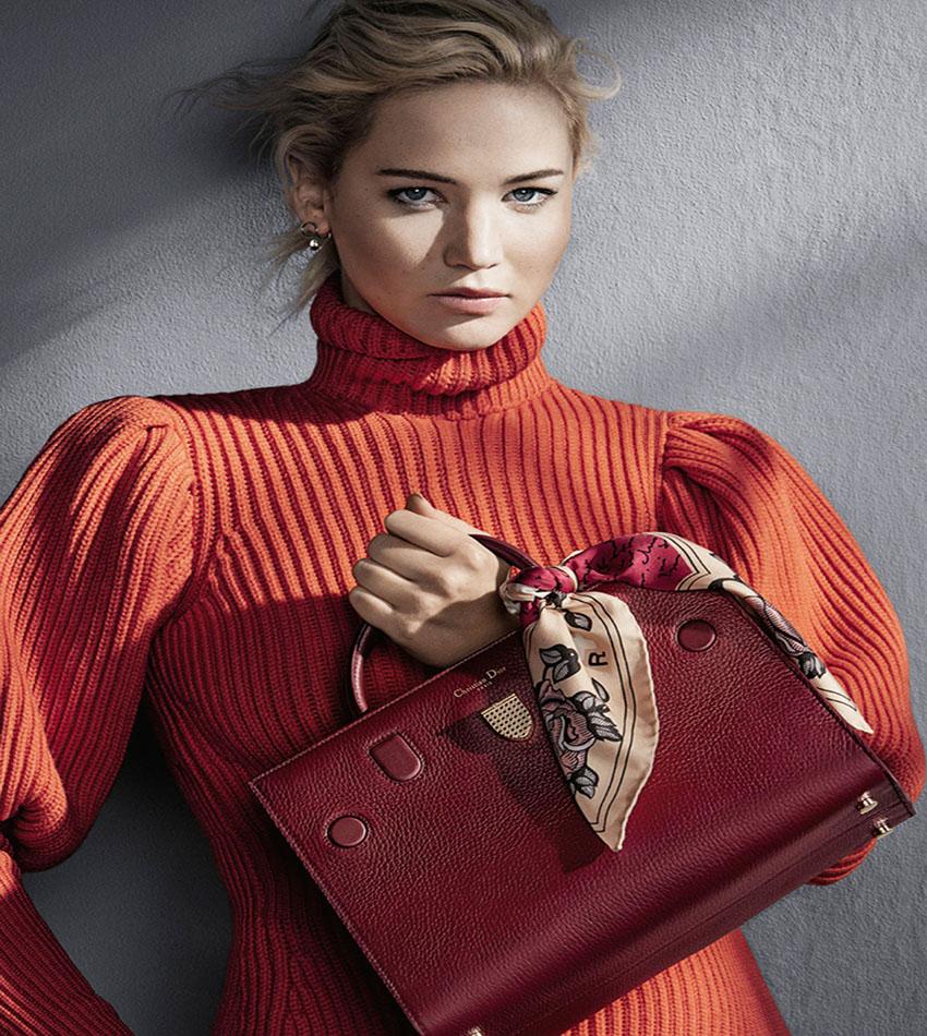 Jennifer Lawrence for Dior Handbags Campaign (Fall/Winter 2016)