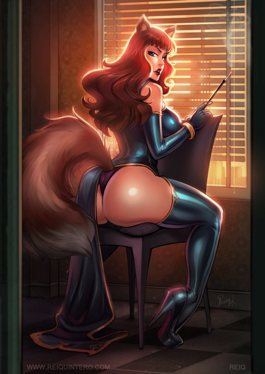 Sexy Illustrations by Reinaldo Quintero