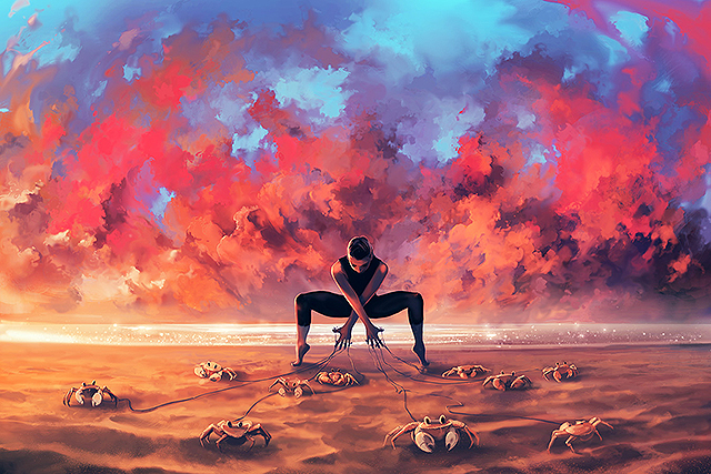 Powerful and richly imagined world of Cyril Rolando