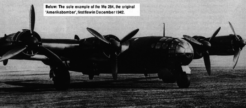 Америкабомбер Ме-264