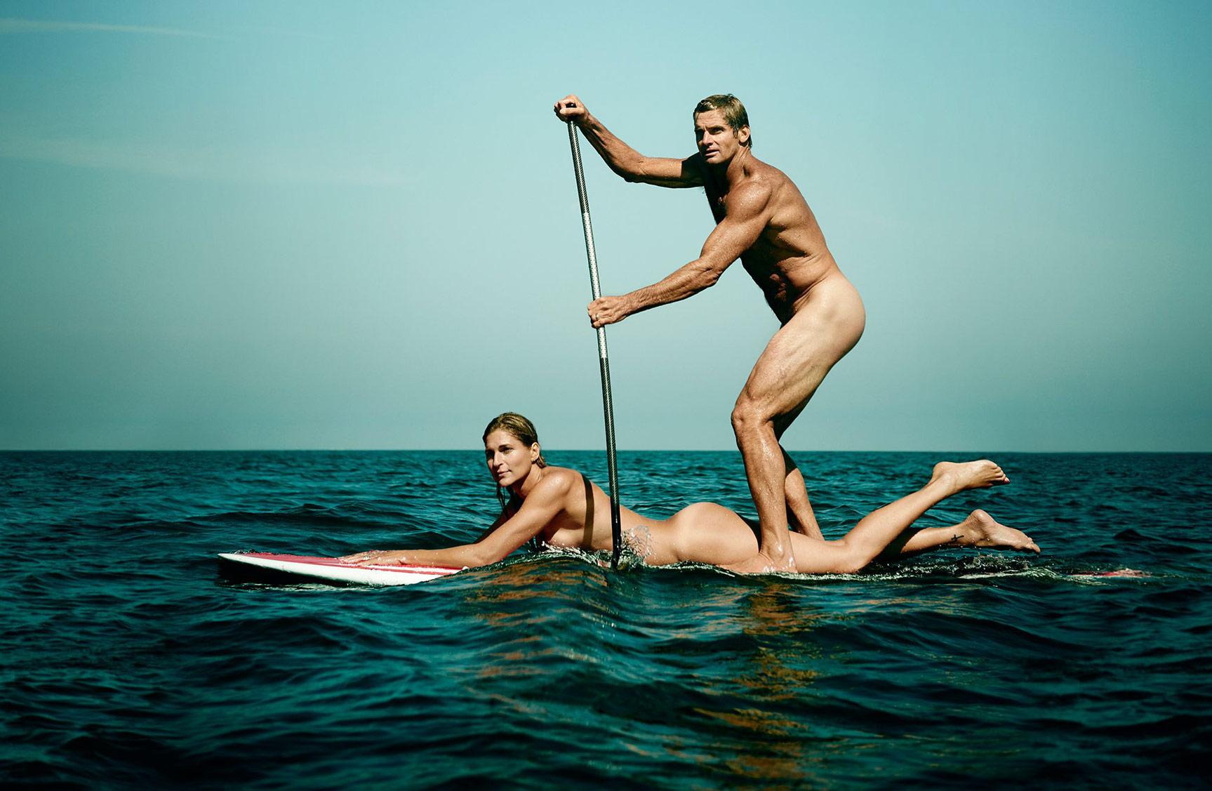 ESPN Magazine The Body Issue 2015 - Gabrielle Reece and Laird Hamilton / Габриэль Рис и Лэрд Гамильтон - Культ тела журнала ESPN