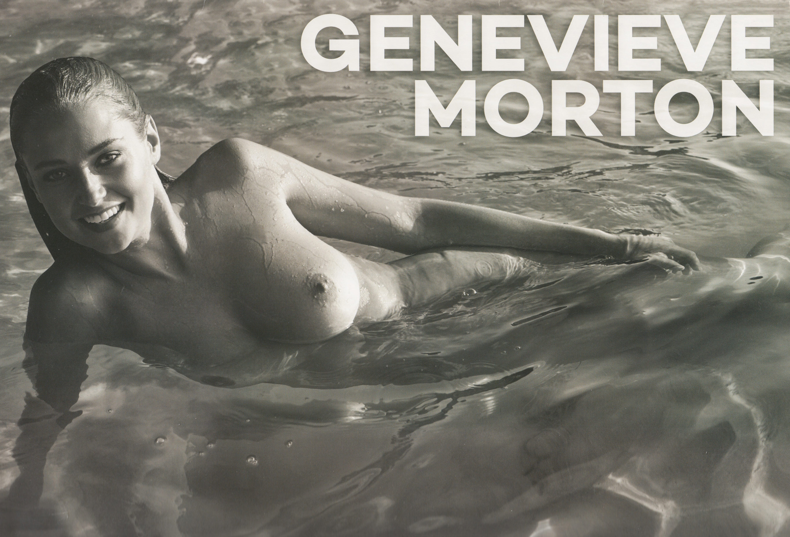Эротический календарь модели Женевьевы Мортон / Genevieve Morton 2017 calendar / photo by Derek Riker