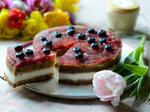 Blood Red Orange Cake или Постный десерт