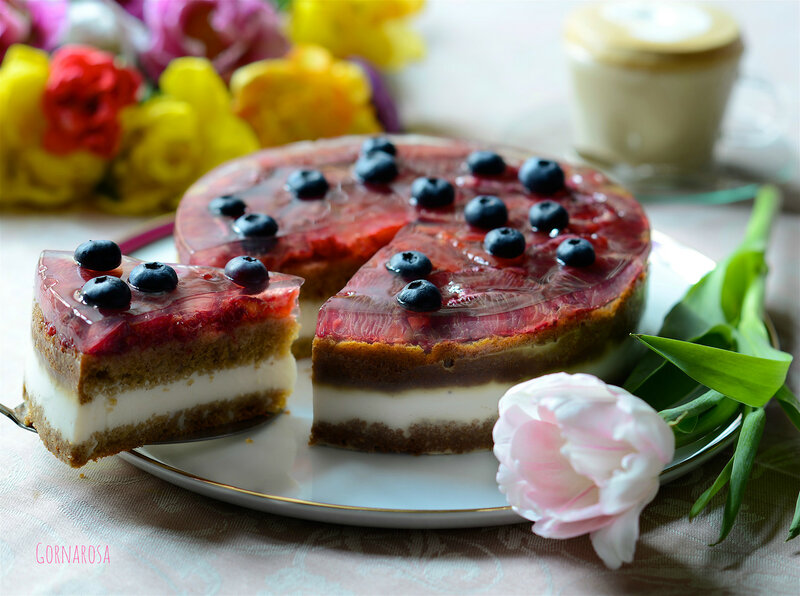 Blood Red Orange Cake