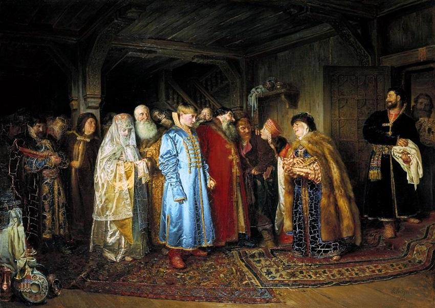 Боярская свадьба, 1883, Третьяковская галерея.jpg