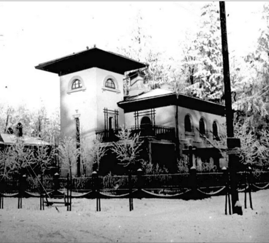 1910. Дача Вюрта в поселке Новогиреево