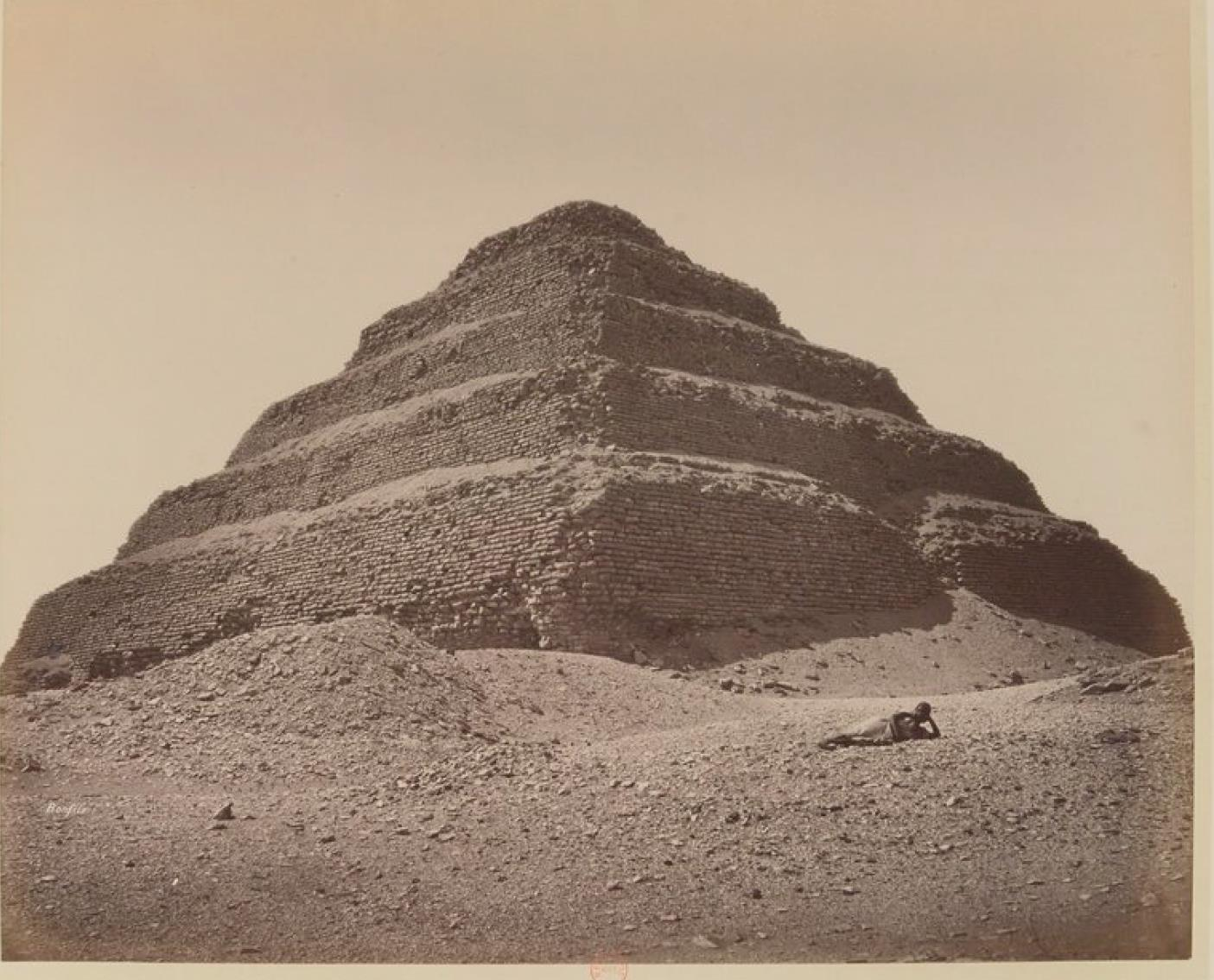 Саккара. Пирамида Джосера