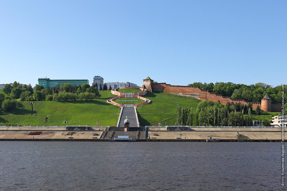 Нижний Новгород, Чкаловская лестница