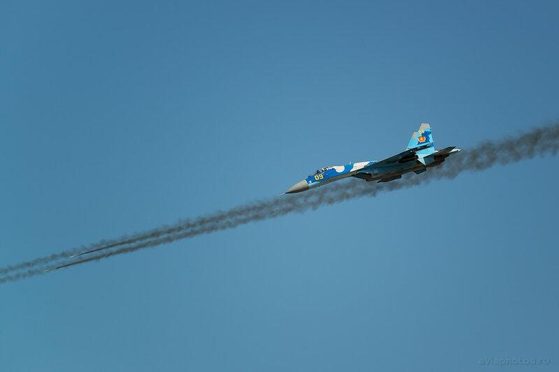 Сухой Су-27С (09 желтый) ВВС Казахстана 1950_D806634