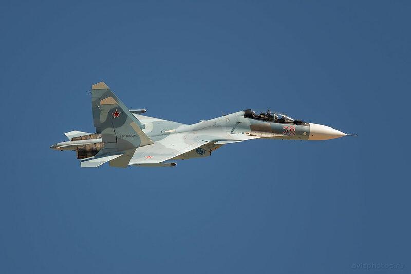 Сухой Су-30 (28 красный) ВКС России 1380_D806523