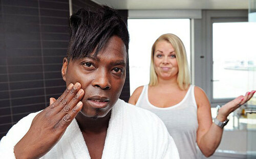 Пара из Битании нарушила стереотип - жена красивее мужа