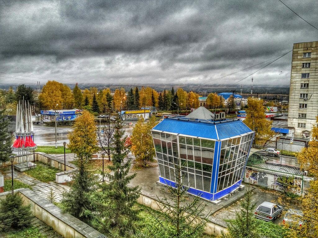 Осень в Златоусте