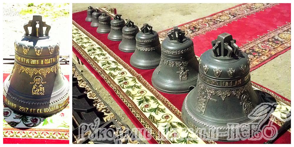 Степной, храм святителя Луки, колокола