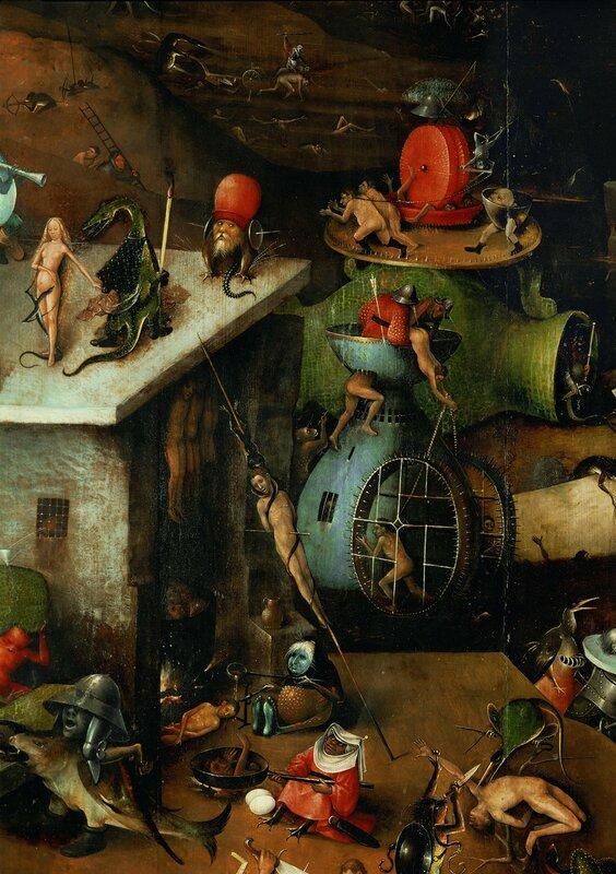 """11.3.Триптих """"Страшный суд"""" (ок.1482) (164 х 127) (Вена, Галерея Академии изящ.искусств). Центральная панель_деталь.jpg"""