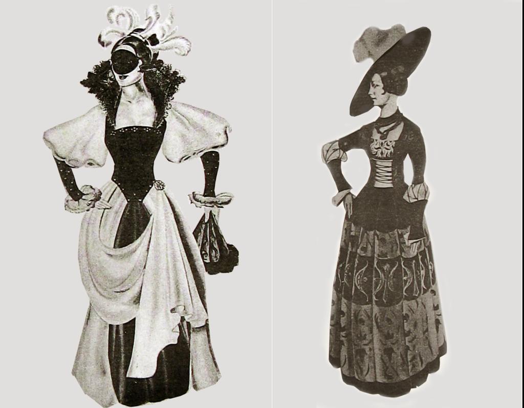 # Эскизы костюмо Офелии, Гамлет.png