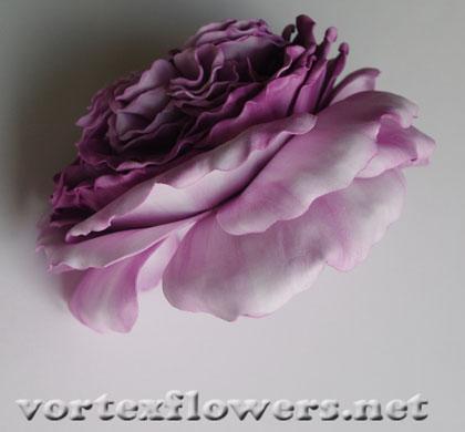 английская роза из фома