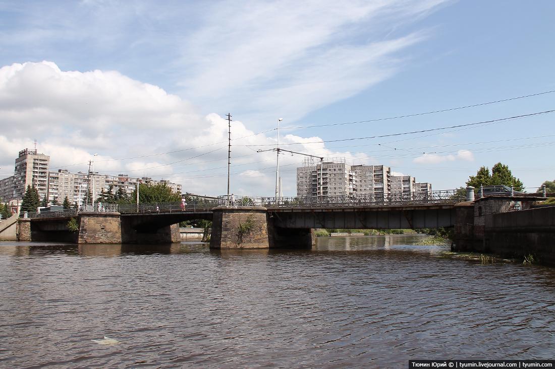 прогулка на катере по Калининграду