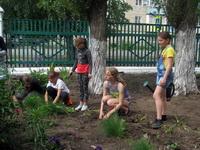 Юные экологи в пришкольном лагере