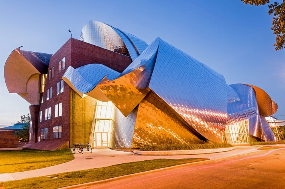 © architecturaldigest.com   Центр Ричарда Фишера, Нью-Йорк