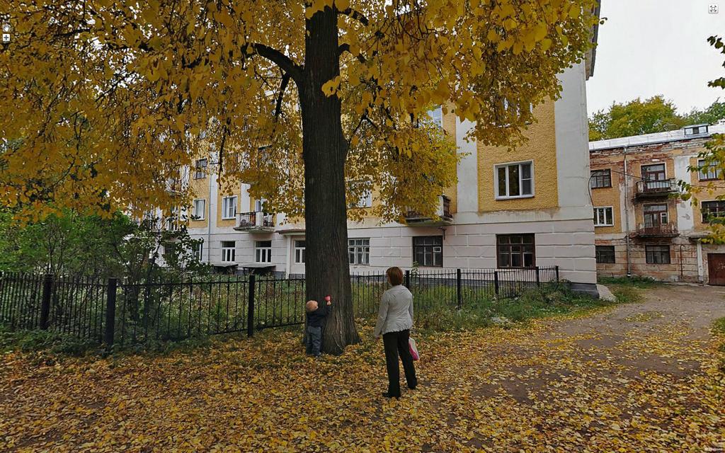 Киров, в районе Преображенского монастыря.
