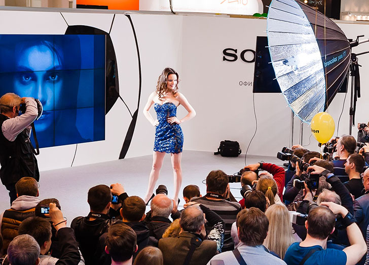 Здесь будут представлены новейшие технологии в области любительского и профессионального фото и виде