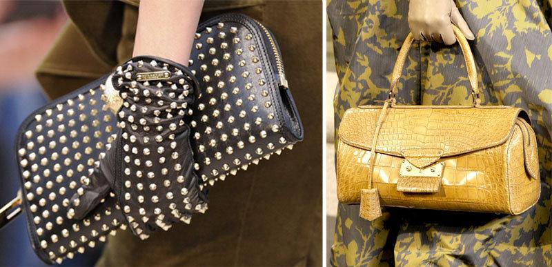 Обувь и сумки с шипами, которые ввёл в моду Valentino, были популярными последние четыре года. Н